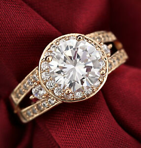 18K-ROSE-GOLD-GF-R319-LUXURY-HALO-4CT-SIMULATED-DIAMOND-BRIDAL-WEDDING-BAND-RING