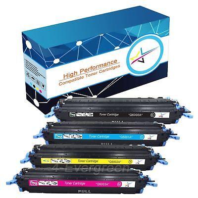 High Yield Toner Q6000A 124A Lot For HP Laserjet 2600 2605 2605dn cm1015 cm1017