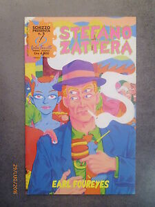 STEFANO ZATTERA - Earl Foureyes - SCHIZZO presenta n° 8 - 1998