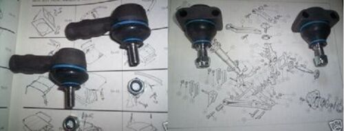 1962-74 TRIUMPH GT6 Vitesse BALL JOINTS /& TRACK ROD ENDS x4