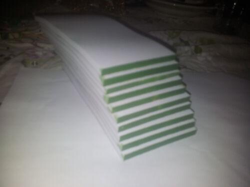 14 cm grün verleimt 200 Kellnerblöcke Notizblöcke Einkaufszettel  6,5