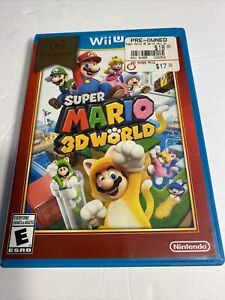 Super Mario 3D World (Wii U, 2013) - Tested - Free Shipping Complete