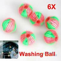 Eco Friendly 6x Washing Laundry Anion Molecules Released Washing Ball Clothes