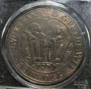 Germany-Saxe-Old-Weimar-1577-Silver-Thaler-Dav-9766-PCGS-VF-35-Toned