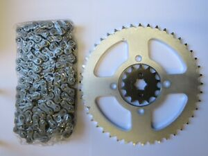 NEW-Heavy-Duty-Chain-And-Sprocket-Kit-Set-For-YAMAHA-YBR-125-YBR125-2007-2016