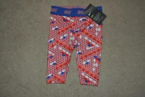 5a86b294 Details about Nike Toddler Girls Dri-Fit Printed Leggings Bright Melon  36B837-A4E Size 6 NWT