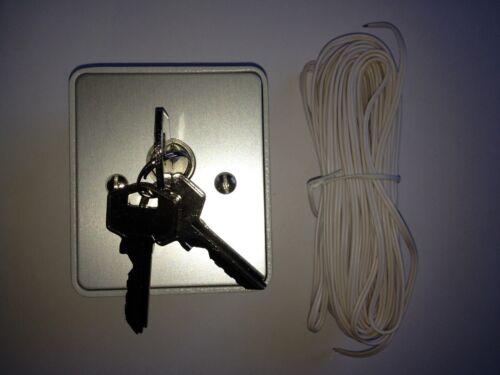 3 Schlüssel 10m Kabel Schlüsseltaster Aufputz Ersatz für Marantec Command 414