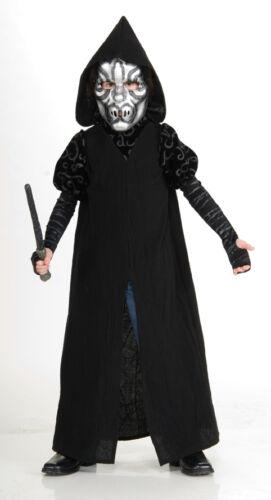 FANCY DRESS COSTUME ~ BOYS GIRLS HARRY POTTER DLX DEATH EATER