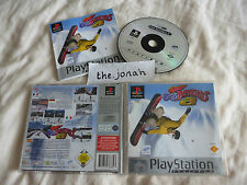Cool Boarders 2 PS1 (COMPLETE) rare platinum Sony Playstation snowboard