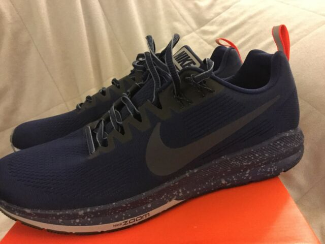 the latest 7d1ad c9abb Nike Air Zoom Structure 21 Shield Men's Running Shoes NEW In The Box size  11.5