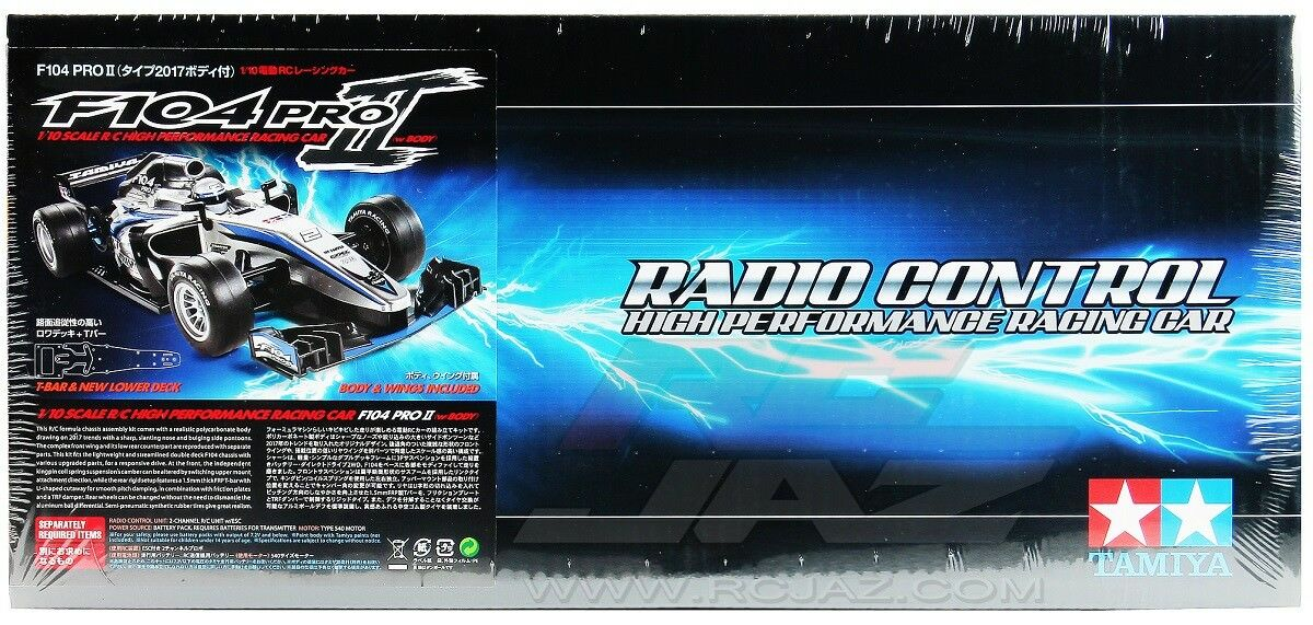 Tamiya 58652 1 10 RC Formula One Car F104 Pro II Chassis Kit w F-1 2017 Body