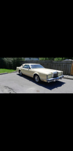 Lincoln continental mark 5