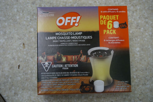 OFF Mosquito Lamp Refills 6 PACK outdoor use refill re-fill