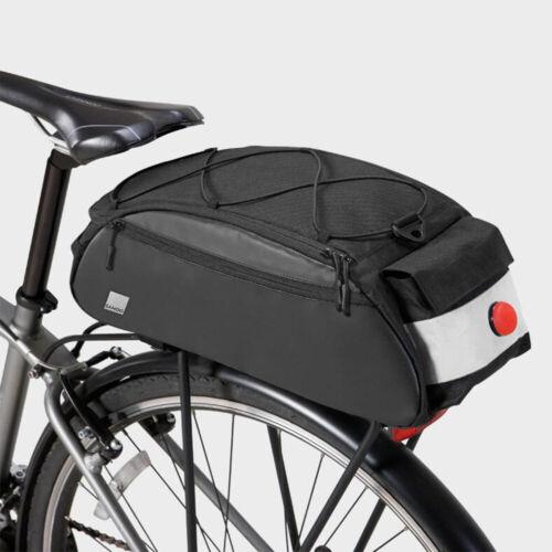 Bicycle Saddle Rear Rack Cycling Single Shoulder Storage Seat Bike Bag Pannier