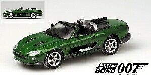 Jaguar Xkr stradaster verde 007 James Bond Die Another Day 1 43 modello MINICHAMPS