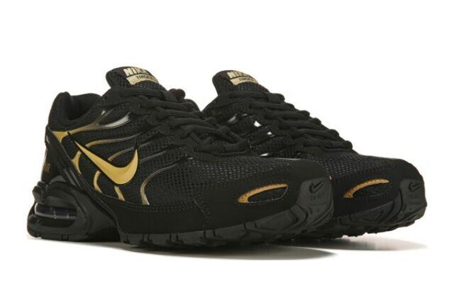 NIB Men's Nike Air Max Torch 4 IV Running Shoes Invigor Black Gold TN Plus