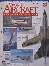 World Aircraft Information Files No 96 SAAB J35 Draken cutaway drawing & poster