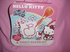 HELLO KITTY String World CRAFT DECOR SET