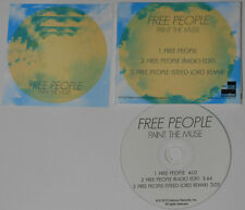 Paint The Muse - Free People (LP/Edit/Remix) - 2015 Promo CD Single