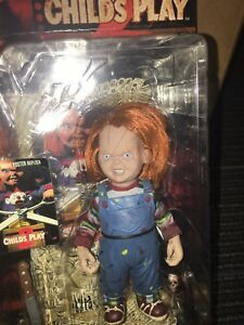 Mcfarlane Movie Maniacs 2 Childs Play Chucky Killer Doll Action