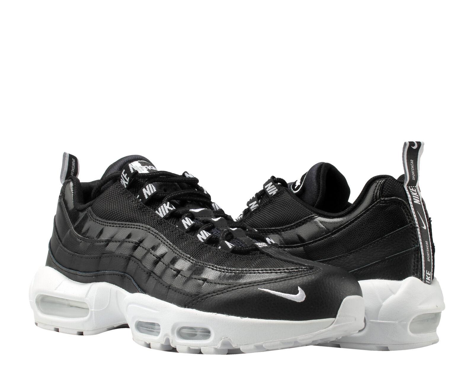 Nike Air Max 95 Black White-Black OverBranded Men's Running shoes 538416-020