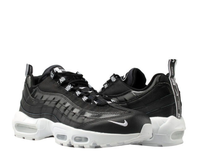 Nike Air Max 95 PRM Overbranded Black White Shoes