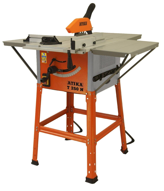 Tischkreissäge ATIKA T 250 N mit Riemenantrieb und umfangreicher Ausstattung