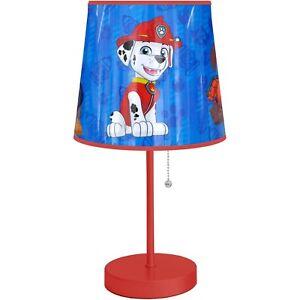 Paw Patrol Table Lamp Toddler Bedroom Playroom Bedside Decorative Lighting Gift 784857628463 Ebay