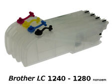 Brother LC1240/LC1280 XL - 4 x Cartouches Rechargeables non-oem★★★