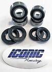 88-92 Honda TRX 300 Fourtrax 300 2x4 BOTH Front Wheel Bearing & Seal Kits