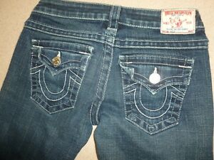 TRUE-RELIGION-Womens-Joey-Jeans-sz-26x30