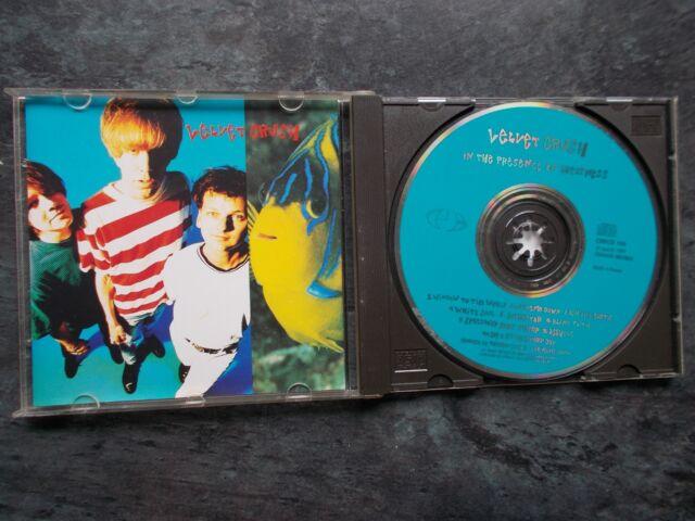 VELVET CRUSH IN THE PRESENCE OF GREATNESS CD ALBUM CRECD 109 1991 Made in France