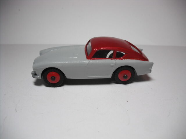 Vintage MECCANO LTD. Dinky Toy No.167 A.C. ACECA SPORTS CAR . RESTORED NEAR MINT