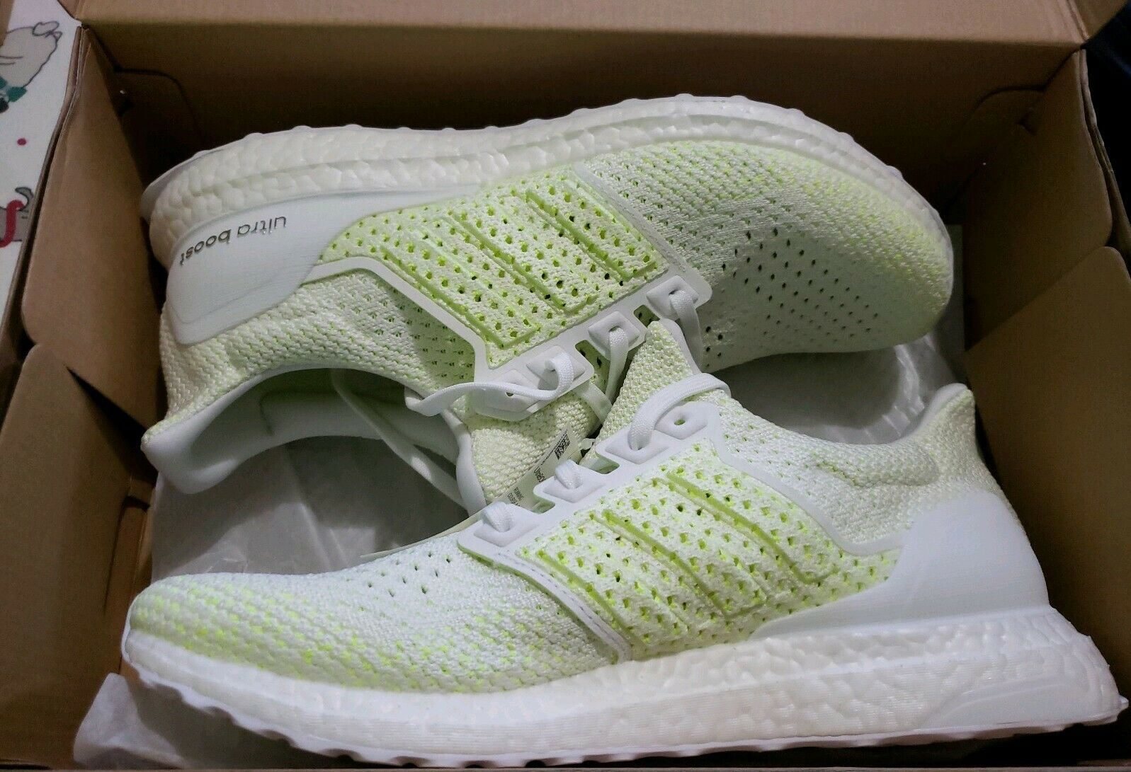 11e3ec1a6 ADIDAS ULTRABOOST CLIMA SZ 11.5 CLOUD WHITE SOLAR YELLOW AQ0481. MCQ  ALEXANDER MCQUEEN shoes SNEAKERS men ...