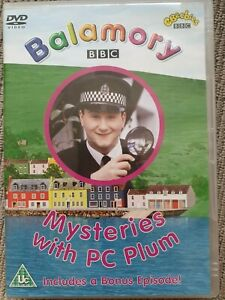 BBC-Balamory-Mysteries-With-PC-Plum-DVD-2002-Regions-2-4