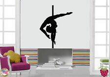 Wall Stickers Vinyl Decal Pole Dance Streaptease Dancing For Living Room (z1710)