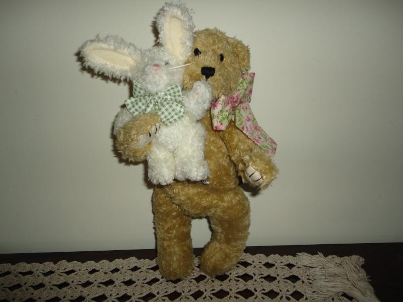 Boyds Bears BARLEE & HOPPS Bear & Bunny Heirloom Series