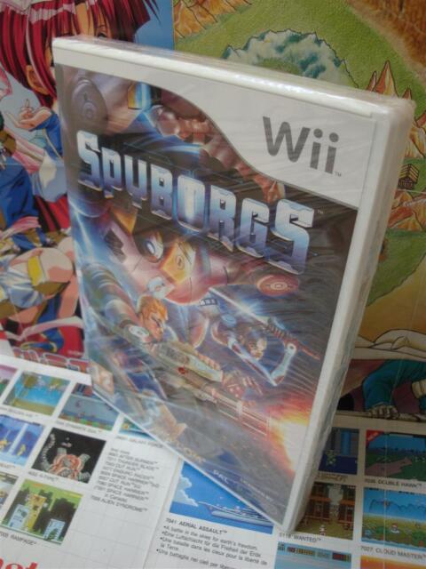 Nintendo Wii:Spyborgs [TOP CAPCOM & 1ERE EDITION] NEUF - Fr