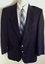 Men's YVES SAINT LAURENT Black Wool 2 Button Blazer Sport Jacket 38S Small ~114