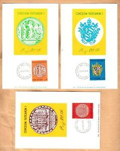 maximum maxi card set 1970 Vatican Concilium