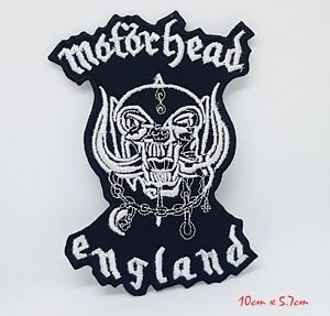 Motorhead-England-Band-Rock-Metal-Iron-Sew-on-Embroidered-Patch-1167