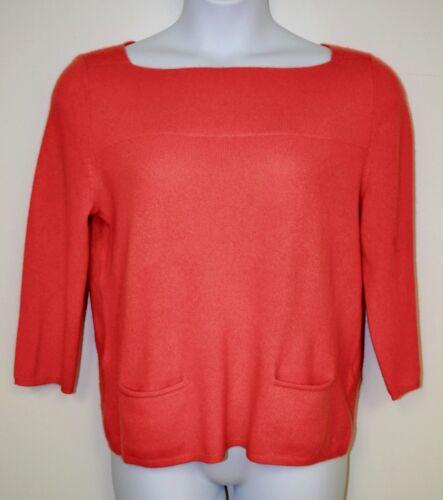 174 Sweater Rød Taylor Lord Ny Atomic Cashmere Blød Børnehals Ret og Orange wtq05z