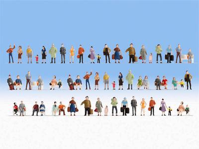 Ancora 18401 Mega Spar Set 60 Personaggi Seduti Senza Panchine E In Piedi Hobby H0 Nuovo-mostra Il Titolo Originale