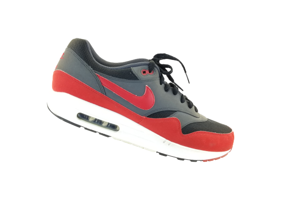 Size 13 - Nike Air Max 1 Essential Gym Red Anthracite for sale ...