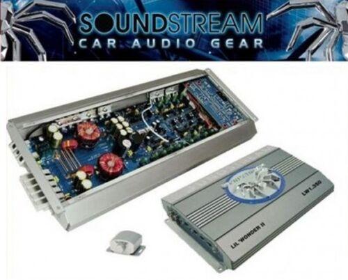 Soundstream Lil /'Wonder expositores LW 1.350 monoblock 600 vatios lw1.350