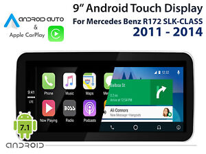 Mercedes-Benz-R172-SLK-CLASS-2011-2014-9-034-Touch-Display-CarPlay-Android-Auto