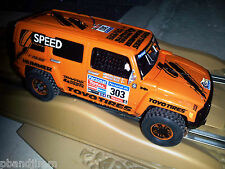 "NEW SCX A10067X 4x4 HUMMER H3 SUV ""GORDON"" Lights Verified on Display Stand"