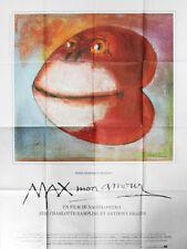Affiche 120x160cm MAX MON AMOUR (1986) Nagisa Oshima - Charlotte Rampling BE