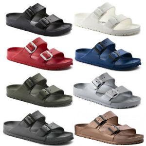 64859af5a40 Image is loading Birkenstock-Arizona-EVA-Double-Strap-Sandals-Slides-Mens-