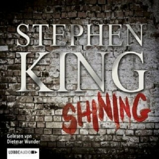 STEPHEN KING - SHINING 3 CD NEW